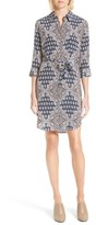 L'Agence Women's Stella Print Shirtdress