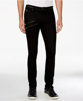 GUESS Men's Zipper Skinny Jeans