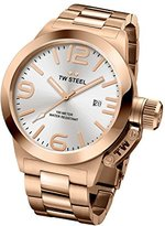 TW Steel Men's CB161 Analog Display Quartz Rose Gold Watch
