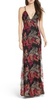 Jay Godfrey Women's Henderson Embroidered Gown