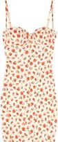 Rosamosario Lara's Flowers cotton-blend twill dress
