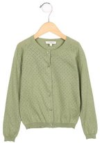 Caramel Baby & Child Girls' Open Knit Button-Up Cardigan