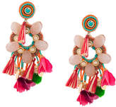 Ranjana Khan tassel detail earrings