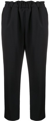 Nine In The Morning Pamela straight-leg cropped trousers