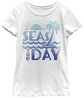 Fifth Sun White 'Seas The Day' Tee - Toddler & Girls