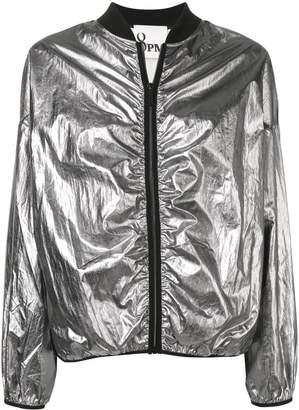 8pm Metallic Bomber Jacket