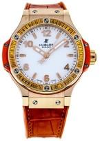 Hublot Big Bang Tutti Frutti 361.PO.2010. White Dial 18K Rose Gold Unisex Watch