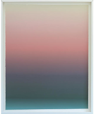 "Dawn Wolfe Design Dawn Wolfe - Sunrise Ombre-White 30""L x 24""W x 2""D"