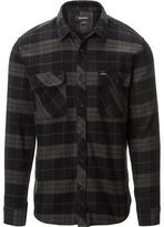 Brixton Bowery Flannel Shirt - Long-Sleeve - Men's Black/Charcoal S