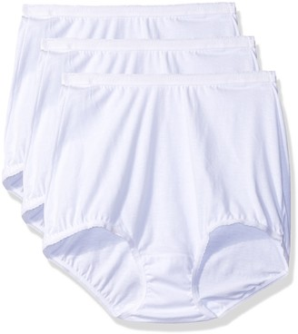 Shadowline Women's Panties-Cotton Brief (3 Pack)