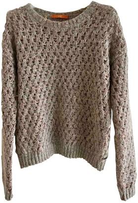 BOSS ORANGE Grey Wool Knitwear for Women