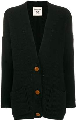 Semi-Couture Semicouture oversized knitted cardigan