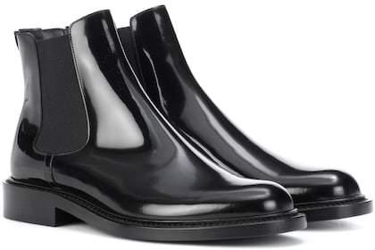 Saint Laurent Patent leather Chelsea boots