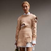 Burberry Cut-out Sweatshirt Dress