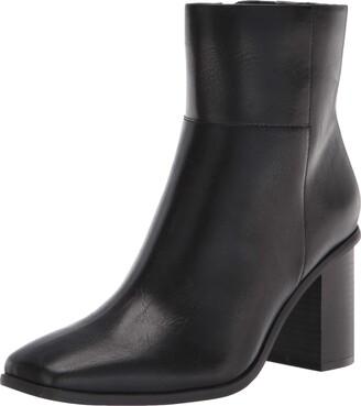 The Drop Women's Ibita High Heel Side Zip Ankle Boot