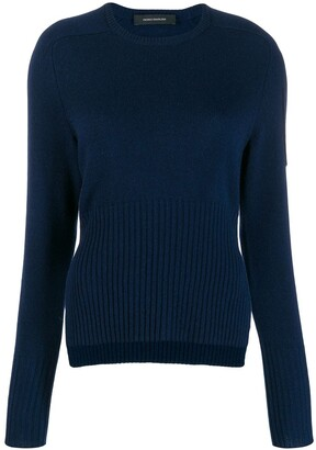 Cédric Charlier Side Slit Jumper