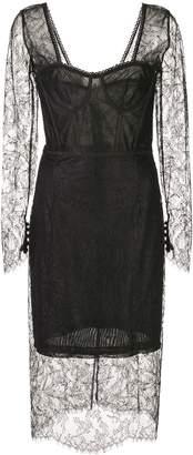Jonathan Simkhai embroidered lace dress