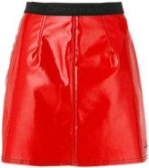 CK Calvin Klein logo waistband mini skirt