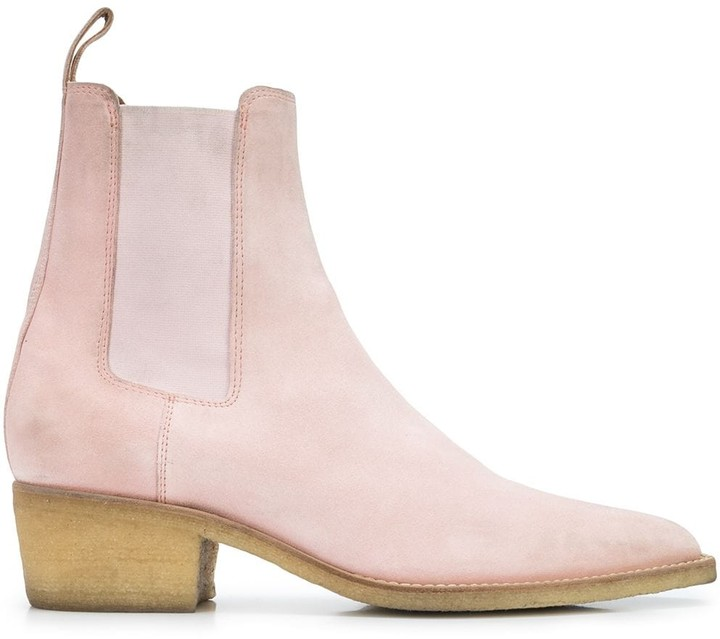 Amiri suede Chelsea boots