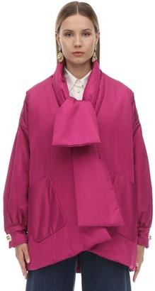 Gucci Oversize Padded Silk Taffeta Jacket