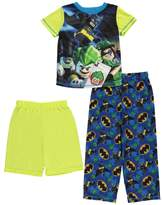"Batman Lego Little Boys' ""Joker & Friends"" 3-Piece Pajamas"