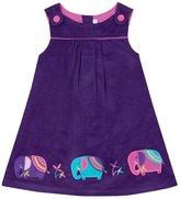 Jo-Jo JoJo Maman Bebe Elephant Pinafore Dress (Toddler/Kid) - Mulberry-4-5 Years