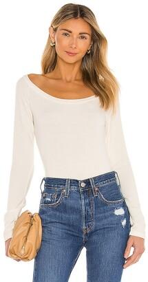 Krisa Open Neck Pullover