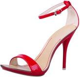 fereshte Women's Open Toe Classic Dancing Stiletto High Heel Ankle Strap Sandals Size US 7