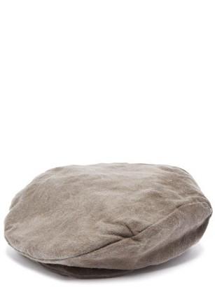Reinhard Plank Hats - Peter Wool Biker Cap - Womens - Dark Grey