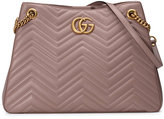 Gucci GG Marmont matelassé shoulder bag - women - Leather/metal/Microfibre - One Size