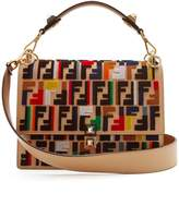 Fendi Kan I Fun Fair leather shoulder bag