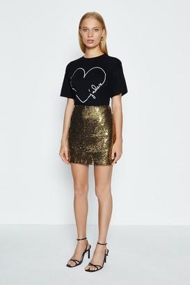 Coast Sequin Mini Skirt
