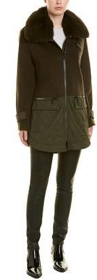 Trina Turk Alea Wool-Blend Coat