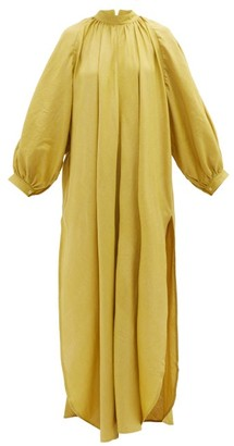 Marrakshi Life - Touareg Cotton-blend Maxi Dress - Yellow