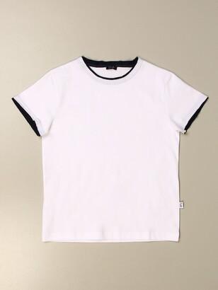 Il Gufo T-shirt In Stretch Cotton