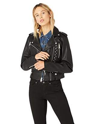 Levi's Women's Faux Leather Contemporary Asymmetrical Motorcycle Jacket