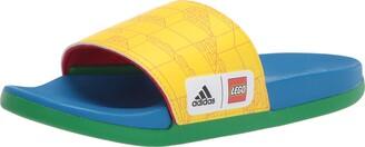 adidas Adilette Comfort x Lego Kids Slides