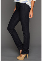 7 For All Mankind Kimmie Straight Leg w/ Contoured Waistband in New Rinse