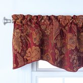 Style Master Stylemaster Home Products Twill and Birch Celeste Chenille Scalloped Valance with Cording