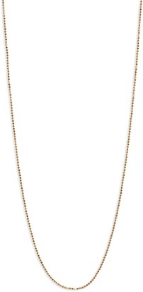 Melinda Maria Icons 20-Inch Ball Chain Necklace