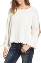 Women's Mcguire Sunrise Frayed Slit Sleeve Top