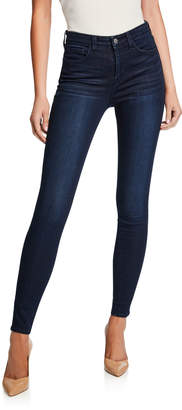 L'Agence Marguerite High-Rise Skinny Ankle Jeans