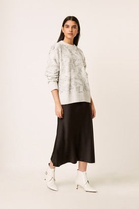 French Connenction Rosemary Sequin Knit Sweater