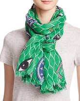 Kenzo Multi Color Icons Scarf