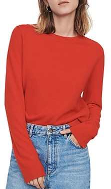 Maje Moana Cashmere Crewneck Sweater