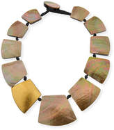 Viktoria Hayman Straza Mother-of-Pearl Station Necklace