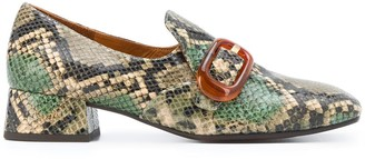 Chie Mihara Mili buckle loafers