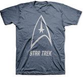 JEM Men's Big & Tall Star Trek Delta Shield Graphic-Print T-Shirt