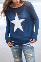 Wooden Ships Star Crewneck
