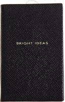 "Smythson Bright Ideas"" Wafer Notebook-BLUE"